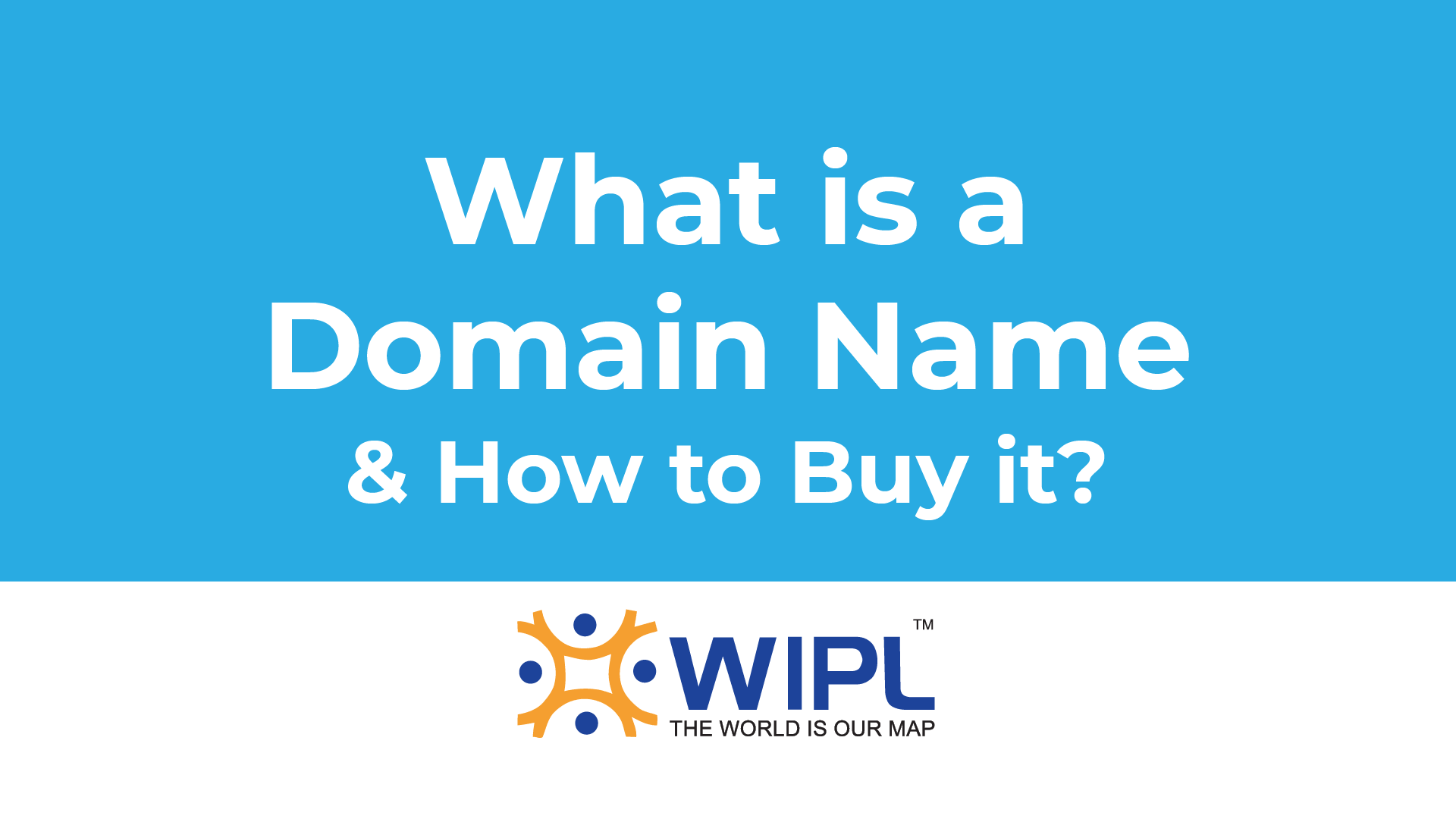What is a Domain Name and How to buy it